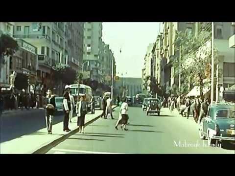 Cairo 1956 مش حتصدق القاهره كانت ازاي سنة 1956 ((فيديو بالالوان)) - YouTube