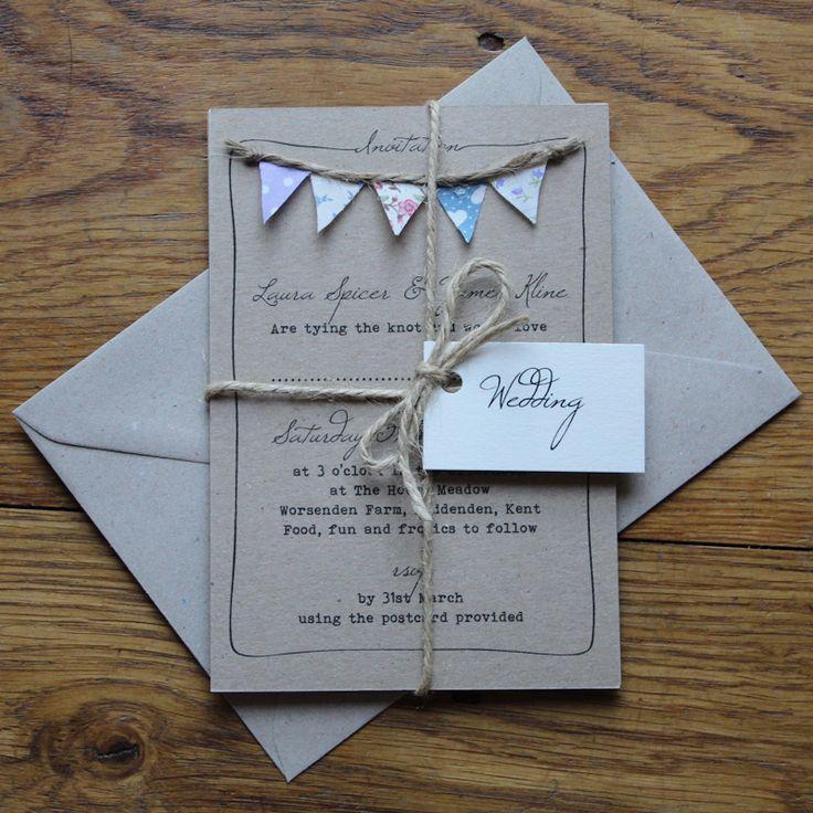 Best 25 Homemade wedding invitations ideas on Pinterest  Homemade wedding envelopes Homemade