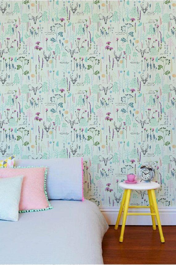 Seamless Banana Pattern Wallpaper Removable Wallpaper Etsy Pattern Wallpaper Removable Wallpaper Wall Stickers Uk