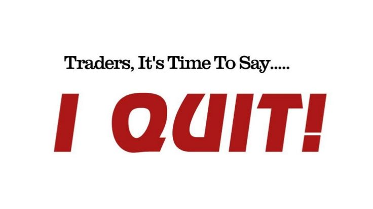 """The power of quitting while you're ahead in trading should not be underestimated, but unfortunately it often   is. At Netpicks.com we really take this to heart and as part of our day trading rules, we clearly outline in our   trade plans how many winning trades we can take before stopping for the session. I want to outline a few   ideas about the power of quitting (POQ) as there are some people who still don't """"believe"""" in it as a useful   principle."""