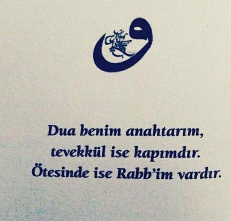 #dua #anahtar #tevekkül #Rab