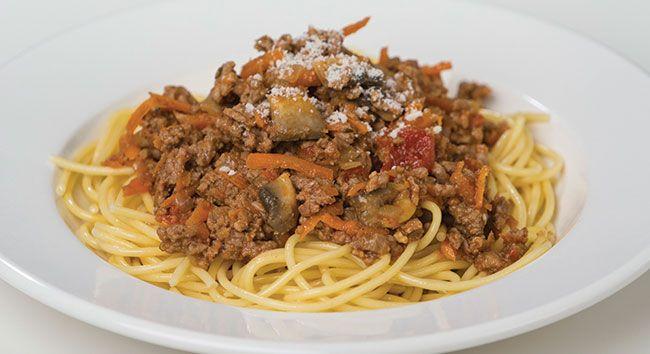 Spaghetti Bolognese | Tony Ferguson Weightloss Program