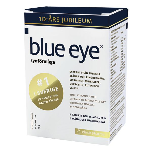 Blue Eye, 64 tabletter