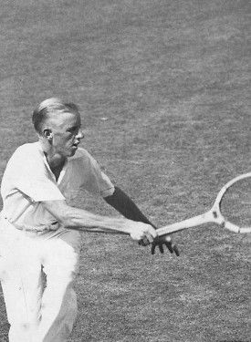 Sidney Wood, 1931 Wimbledon Singles Champion, inducted into Tennis Hall of Fame in 1964.  #tennis