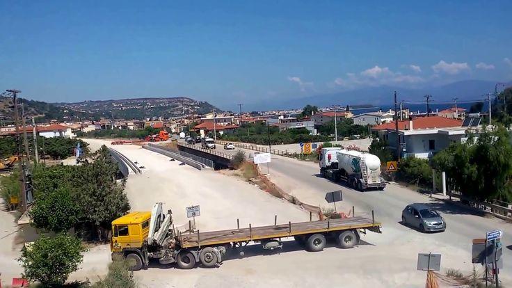 Ολυμπία Οδός. Αιγείρα: Εκτροπές κυκλοφορίας λόγω έργων στη γέφυρα Κριού