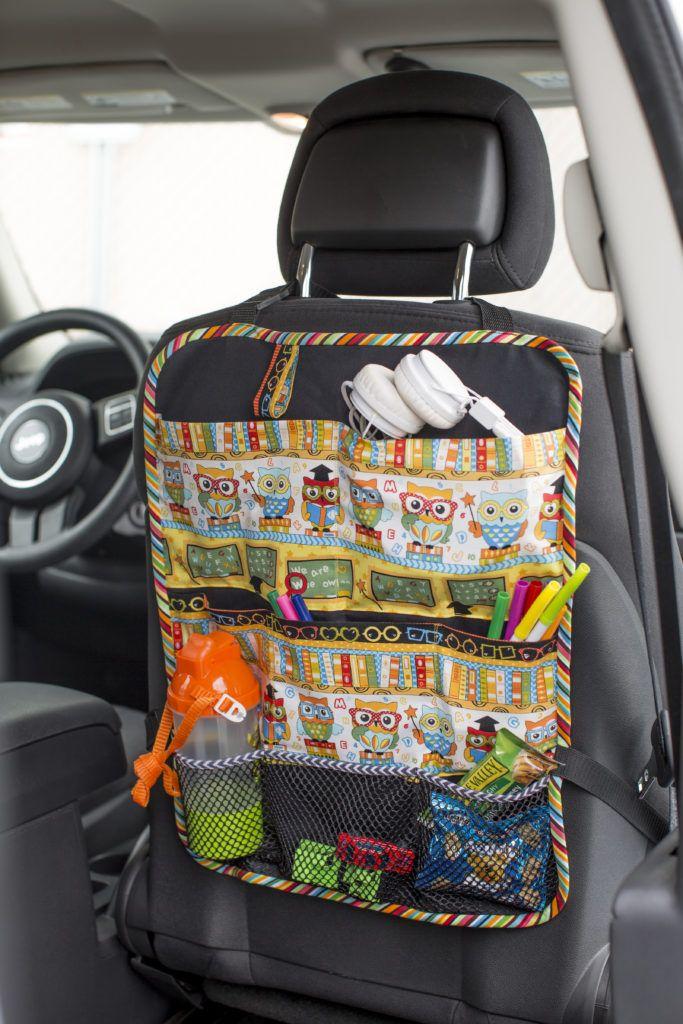 Car Seat Organizer (Sewing Secrets - A Blog by Coats & Clark)