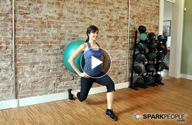 Ball Workout Videos From SparkPeople.com   SparkPeople