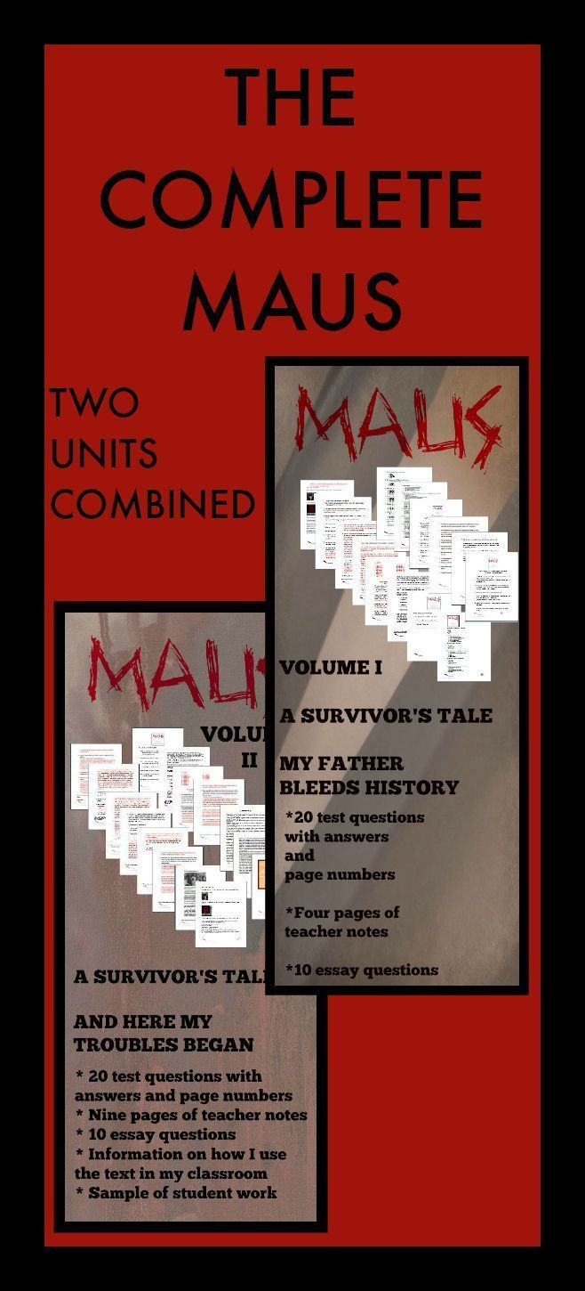 essay maus Title length color rating : maus and the holocaust - the holocaust is known to all of us in some manner maybe we know someone who survived this terrible event in.