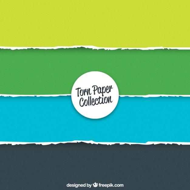 121 best freepik images on pinterest brochure design brochures set of torn colored papers free vector stopboris Image collections