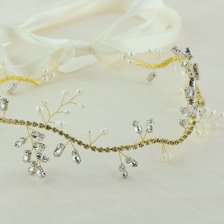 azaleas Crystal Wedding Hairband Hair Comb wedding headband Bridal Floral Wedding Headband Hair Vine Headpiece (HP38) >>> Check out the image by visiting the link. #hairenvy