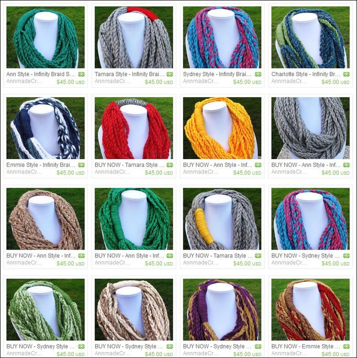 AnnmadeCraftsSeattle on Etsy - A portion of the proceeds from the Infinity Braid Scarves goes to the Juvienille Diabetes Research Foundation (www.jdrf.org) to help prevent, treat, and cure Type 1 Diabetes.  https://www.etsy.com/ca/shop/AnnmadeCraftsSeattle