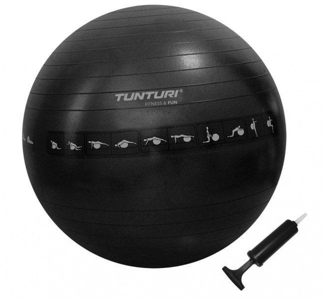 Buy Tunturi Anti-Burst Exercise Ball with Pumpfor R225.00