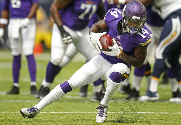 Minnesota Vikings: Stefon Diggs Although the Minnesota Vikings' hopes and dreams for the 2016 season appear to have been dashed after Teddy Bridgewater's catastrophic knee injury, the team still has several rising stars. One of those players is wide receiver Stefon Diggs.