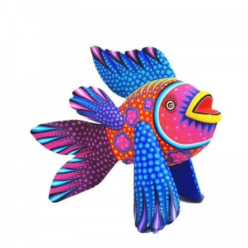 Rubi Fuentes & Efrain Broa: Colorful Fish