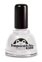 Hopscotch Kids water-based nailpolish -- nailpolish for kids but also good for adults -- vegan, cruelty-free, gluten free, toxin free, fragrance free, paraben free, hypoallergenic, and biodegradable