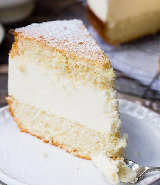 Tarta de queso rellena