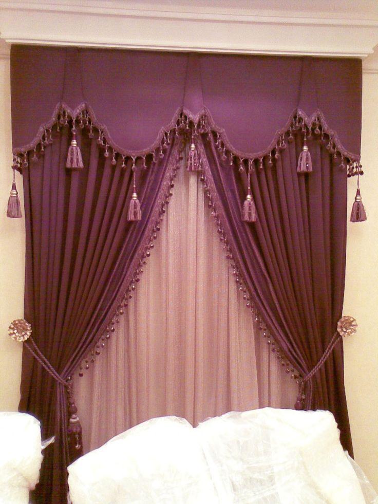 470 best window treatments tassels images on pinterest for Beautiful window treatments