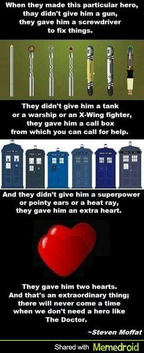 Always need more of The Doctor