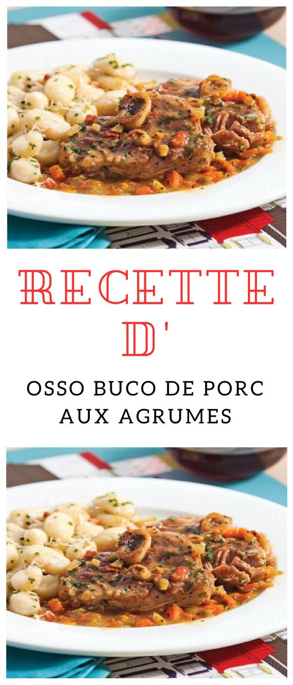 #ossobuco #porc #agrumes