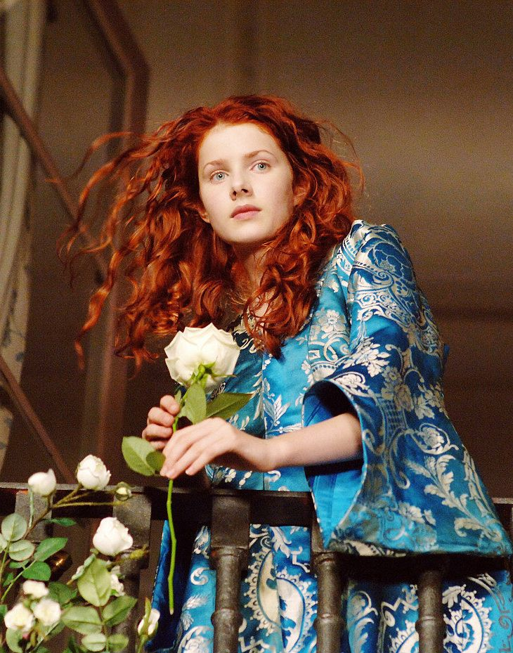 Rachel Hurd-Wood in Tom Tykwer's adaptation of Peter Süsskind's novel The Perfume. The story of a Murderer.