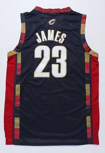 Men CAVS 23 Lebron James Swingman Jersey Black Cleveland Cavaliers Jersey b48078747