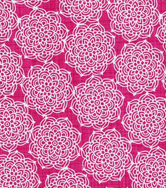 Keepsake Calico™ Cotton Fabric-Paradise Medallion Flower