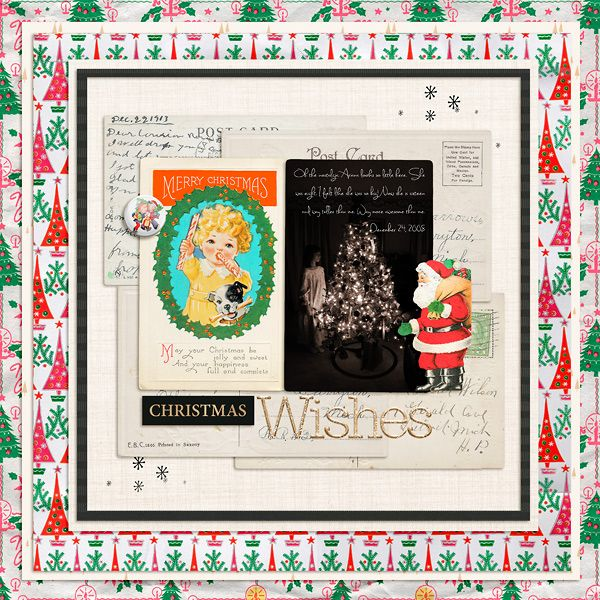 Kit #1: Paula Kesselring ~ Retro Christmas     Neutral Papers: Pink Reptile Designs ~ The Sparkly Season | Papers     Alpha: Pink Reptile Designs ~ The Sparkly Season | Alpha     Elements: Pink Reptile Designs ~ The Sparkly Season | Elements     Font: Sweetly Broken