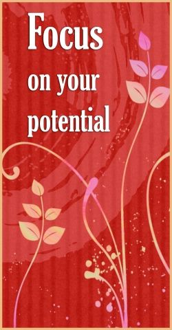 """If you're a Christian, OFFER yourself (talent, potential...) to the Lord, and He will fit you into HIS OVERALL DIVINE PLAN:  """"For I know the plans I have for you,"""" says the LORD. """"They are plans for good and not for disaster, to give you a future and a hope,"""" Jer. 29:11."""