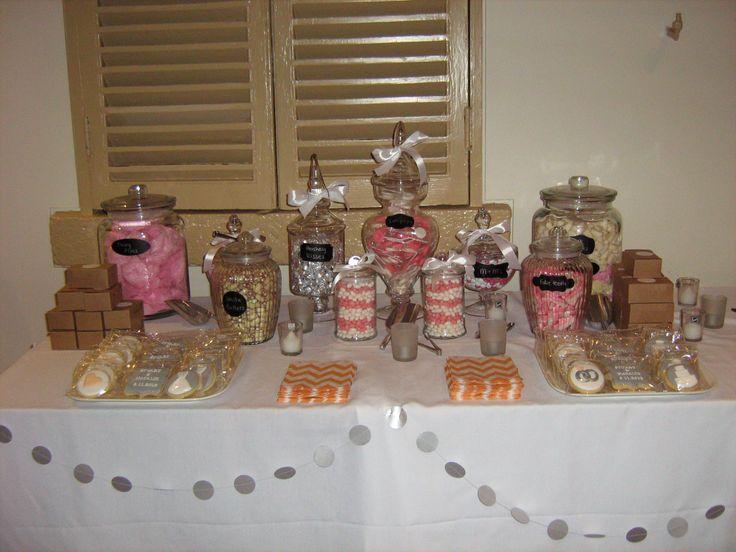 Pink Theme Candy Buffet
