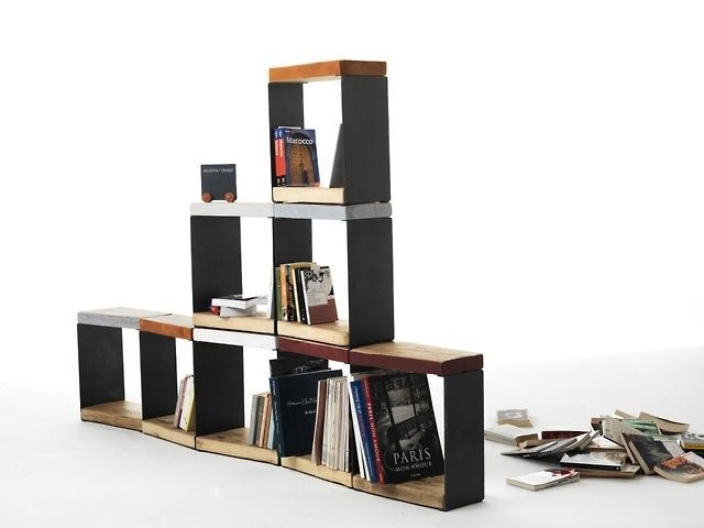 #design #ecodesign #interior #sbobina #emilianobona #boris #chair #library #bookstore