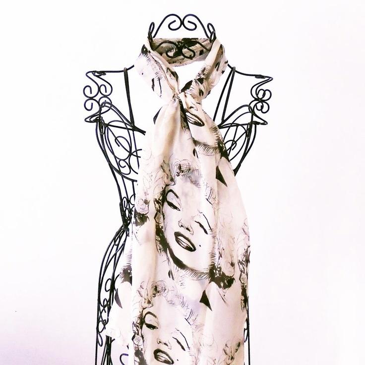 Beige Marilyn Monroe scarf £4.95