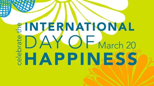 Celebrate International Day of Happiness on March 20th!!