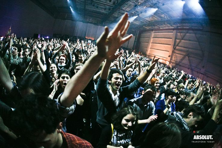 Concert Woodkid 5 dec. 2013 Foto: Valeriu Catalineanu