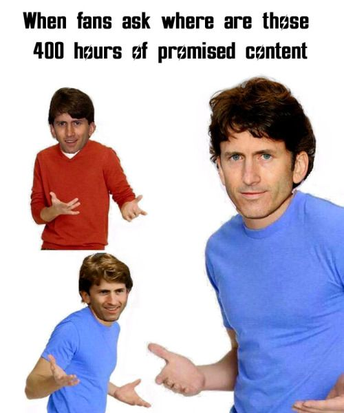You hearing me Todd? Todd dont walk away from me! Todd?  fallout fallout 4 falout todd howard