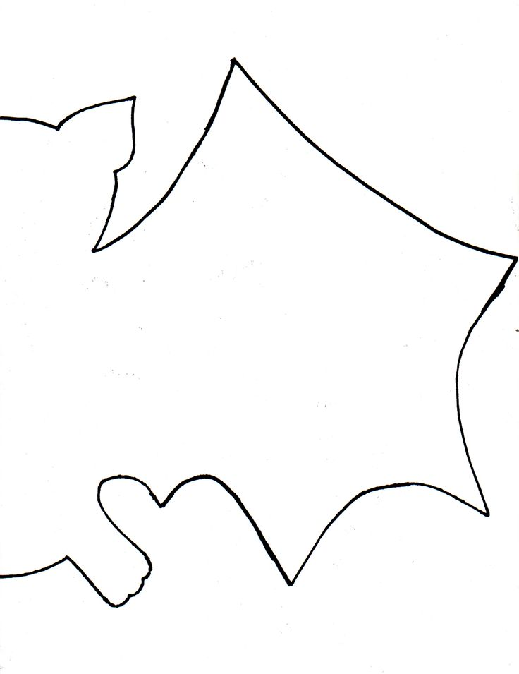 The  Best Bat Cut Out Ideas On   Bat Stencil Bat