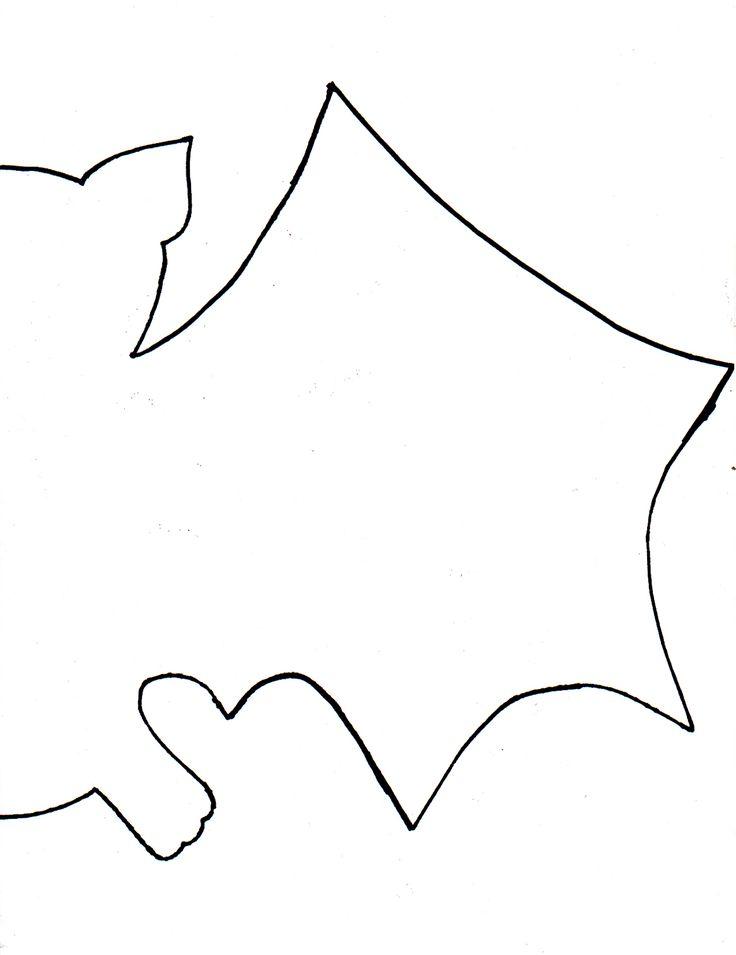 The 25+ best Bat cut out ideas on Pinterest Halloween bat - bat template