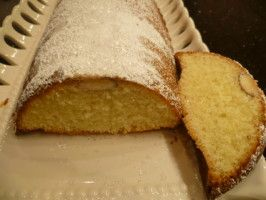 Scandinavian Almond Cake INCREDIBLE! Sprinkle top with slivered almonds. Notes: Try adding almonds to batter. Recipe can be doubled for bundt pan. Flour baking pans or it will be difficult to remove. Can also be made in quiche/tart pan, muffin pans, or loaf pan. If using quiche/tart pan, it will bake quicker. From Food.com