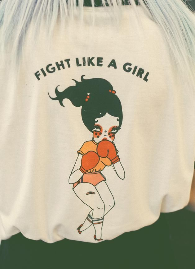 Fight Like a Girl Polo Shirt  6d3e93d432cf