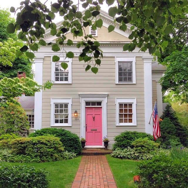 227 best exterior paint colors images on pinterest What front door colors mean
