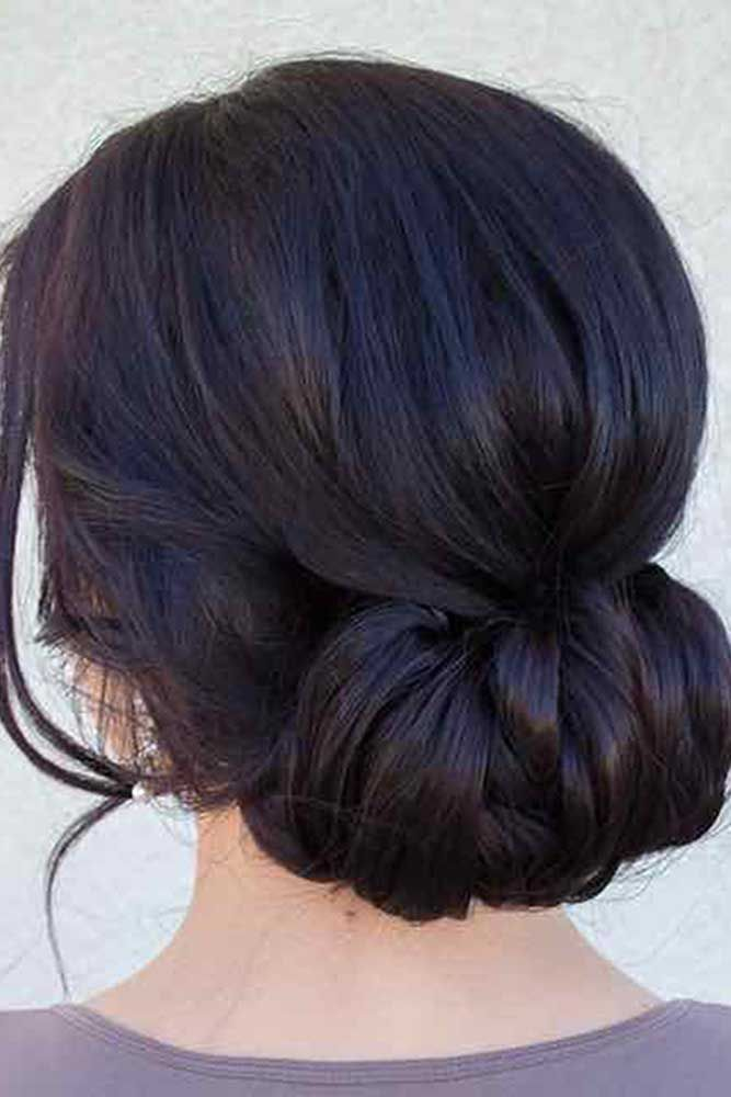 Amazing 1000 Ideas About Bridesmaids Hairstyles On Pinterest Junior Short Hairstyles Gunalazisus
