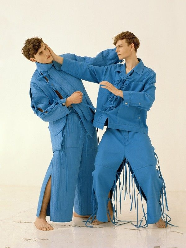 Photographic interpretation of Graig Green SS 15 collection by Scandebergs