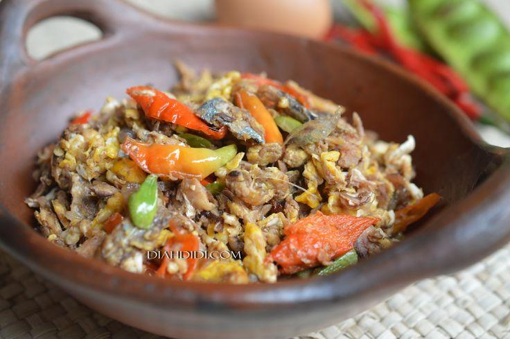 Diah Didi's Kitchen: Orak Arik Peda & Pete