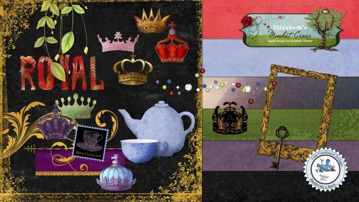 Royal Fun by Elizabeth's Market Cross.