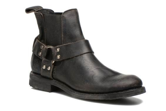 Bottines et boots STONE HARNESS CHELSEA Frye vue 3/4