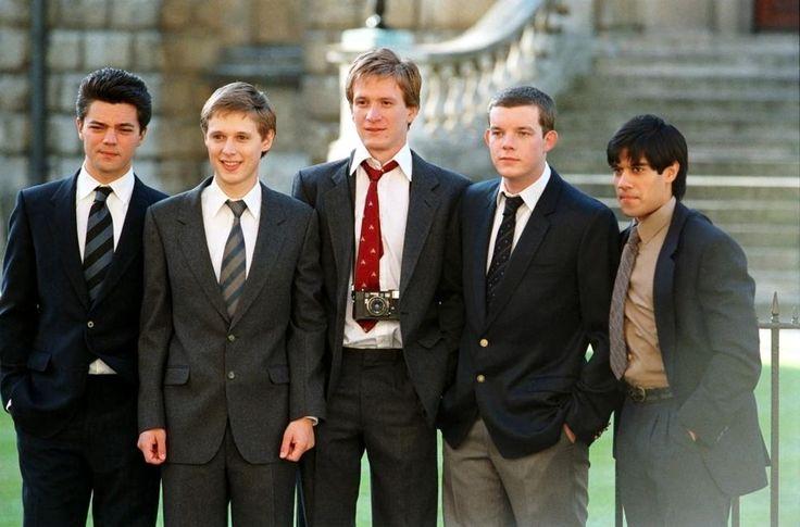 THE HISTORY BOYS, Dominic Cooper, Samuel Barnett, Jamie Parker, Russell Towey, Sacha Dhawan, 2006