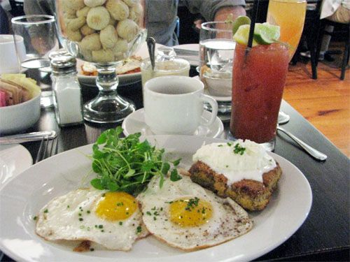 Brunch @ Oyster House in Philadelphia: Try the Oyster Scrapple