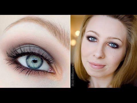 makeup TUTORIAL - bardzo prosty makijaż na STUDNIÓWKĘ czy SYLWESTRA - YouTube