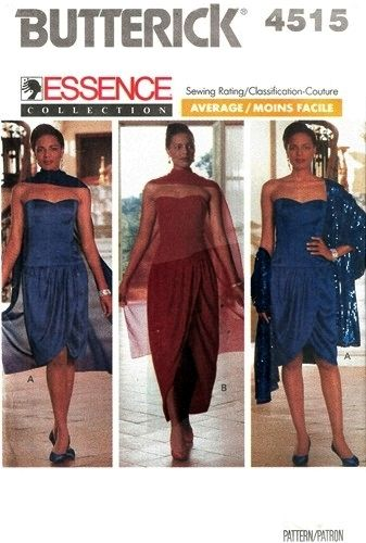 Maxi dress sewing pattern online for stoles