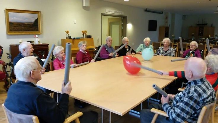 Fun activity for seniors to get moving!