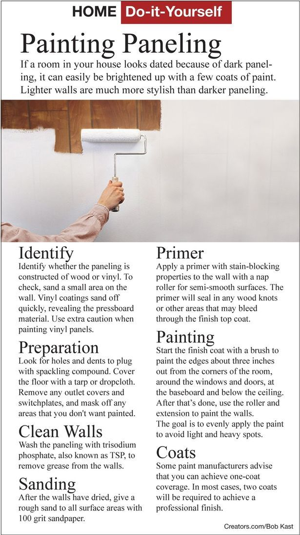 how to find paint already on walls